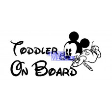 Toddler on Board - Mickey