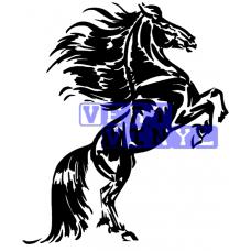 Friesian Horse 3