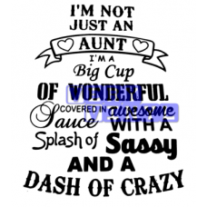 I'm Not Just an Aunt - Awesome Crazy