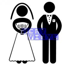 Wedding Couple - Bride & Groom, Bride & Bride or Groom & Groom